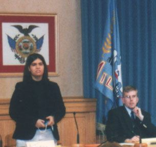 Ashley Turza presides, with Paul Seymour as parliamentarian.
