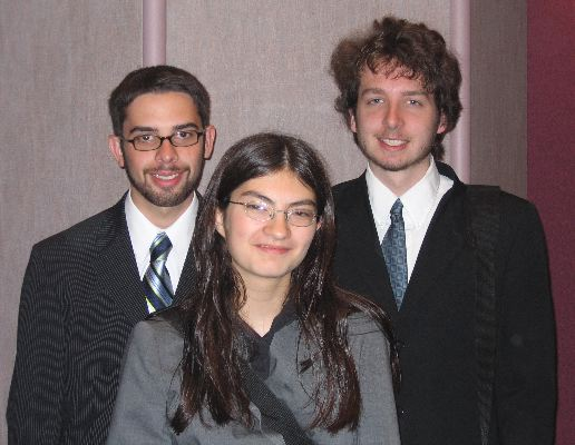 Rufus King's Congress squad advanced to the final super Congress session at NCFL Nationals, 2005.