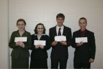 Student scholarship winners